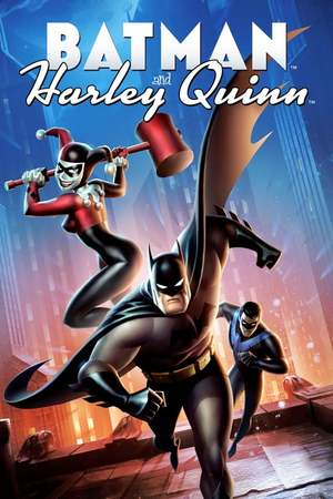 Poster: Batman und Harley Quinn