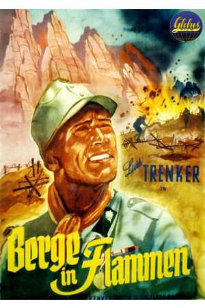 Poster: Berge in Flammen