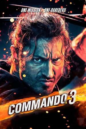 Poster: कमांडो 3