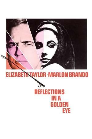 Poster: Spiegelbild im goldenen Auge