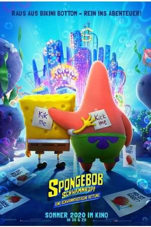 Poster: Spongebob Schwammkopf: Eine schwammtastische Rettung