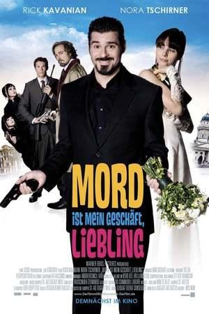 Poster: Mord ist mein Geschäft, Liebling