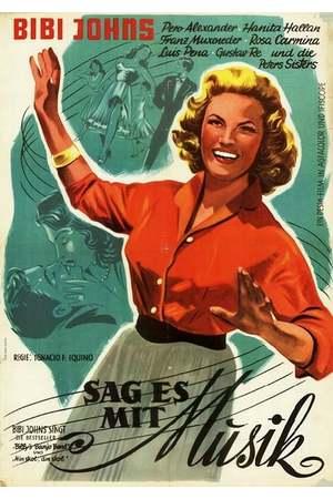 Poster: Sag es mit Musik