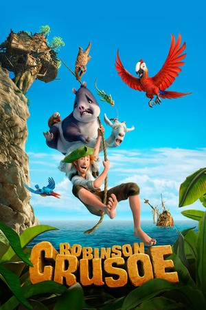 Poster: Robinson Crusoe: The Wild Life