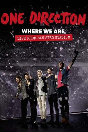 Poster: One Direction: Where We Are – The Concert Film