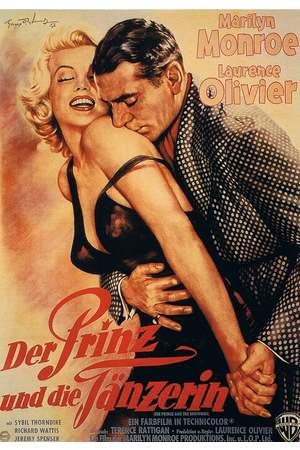 Poster: Der Prinz und die Tänzerin
