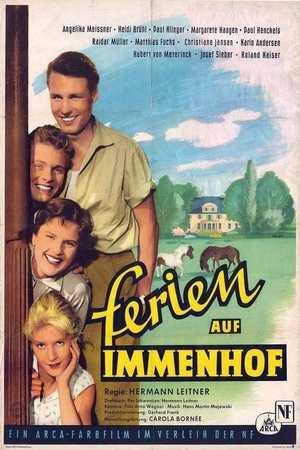 Poster: Ferien auf Immenhof