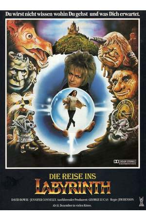 Poster: Die Reise ins Labyrinth