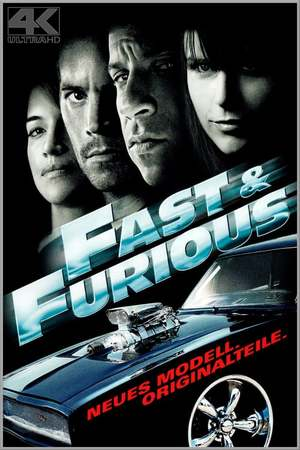 Poster: Fast & Furious - Neues Modell. Originalteile.