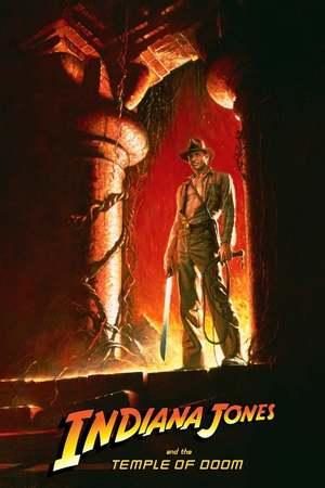 Poster: Indiana Jones und der Tempel des Todes