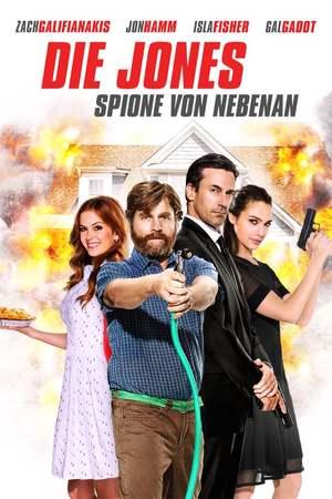 Poster: Die Jones - Spione von Nebenan