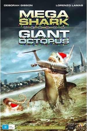 Poster: Mega Shark vs. Giant Octopus