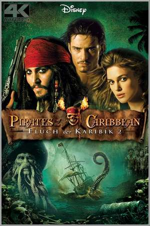 Poster: Pirates of the Caribbean - Fluch der Karibik 2