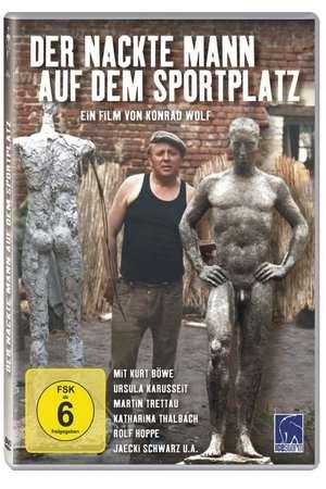 Poster: Der nackte Mann auf dem Sportplatz