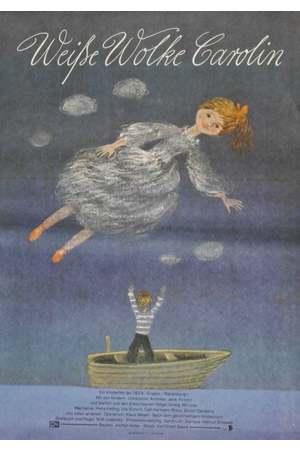 Poster: Weiße Wolke Carolin