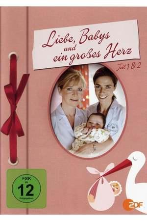 Poster: Liebe, Babys und ein großes Herz