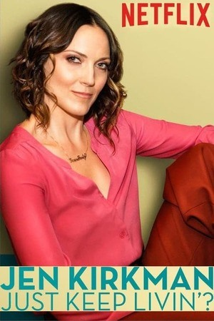 Poster: Jen Kirkman: Just Keep Livin'?