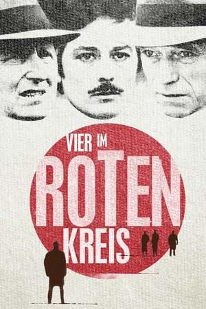 Poster: Vier im roten Kreis