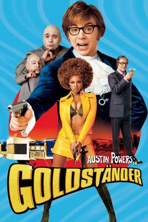 Poster: Austin Powers in Goldständer
