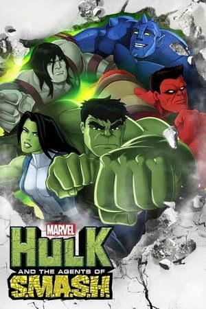 Poster: Hulk und das Team S.M.A.S.H.
