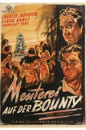 Poster: Meuterei auf der Bounty