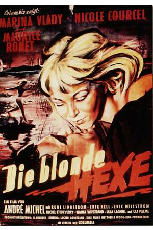 Poster: Die blonde Hexe