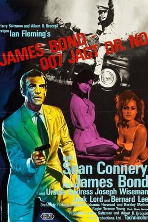Poster: James Bond 007 jagt Dr. No