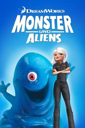 Poster: Monsters vs Aliens