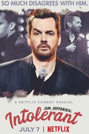 Poster: Jim Jefferies: Intolerant