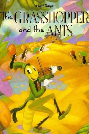 Poster: Die Heuschrecke und die Ameisen