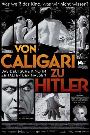 Poster: Von Caligari zu Hitler: Das deutsche Kino im Zeitalter der Massen