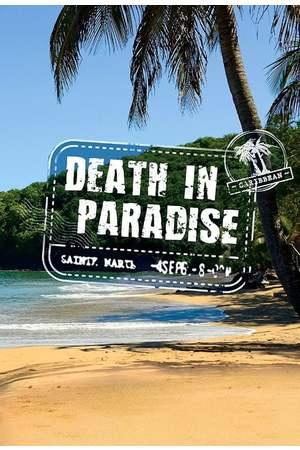 Poster: Death in Paradise