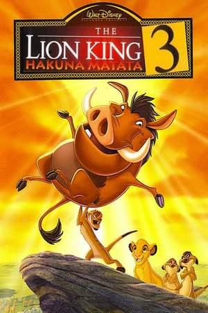 Poster: Der König der Löwen 3 - Hakuna Matata