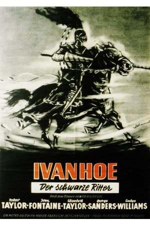 Poster: Ivanhoe - Der schwarze Ritter
