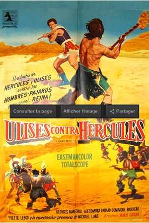 Poster: Herkules, der Sohn der Götter