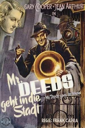 Poster: Mr. Deeds geht in die Stadt