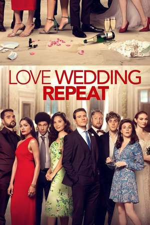 Poster; Love. Wedding. Repeat