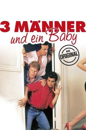 Poster: Drei Männer und ein Baby